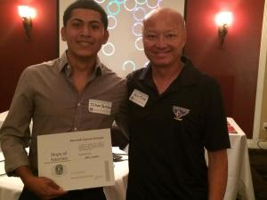 Johan Sanchez, Hope of America Award, Ramona High School